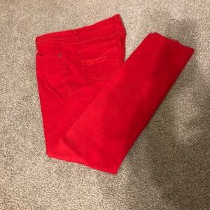 Style & Co, RED, 8P, jeans, like new